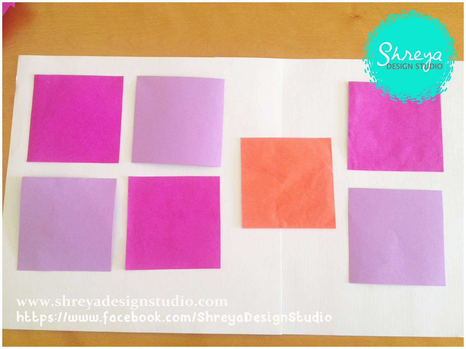 Tutorial How To Make A Seven Flower Pop Up Card Shreya Design Studio