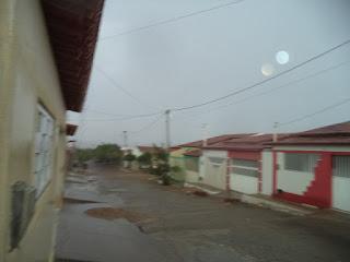 Chove em Parelhas na tarde desta quinta-feira (17)