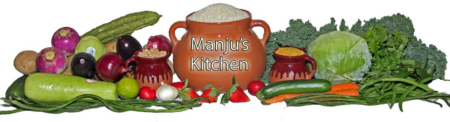 Recipes from Manju's kitchen