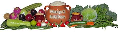 Recipes from Manju's kitchen