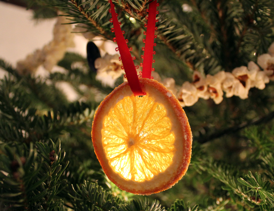 Kitchen witch blog dried orange slices for Fruit orange decoration