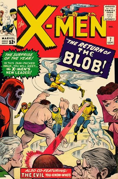 X-Men #7, the Blob returns