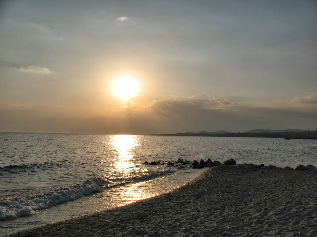 Sunset in Nikiti, Greece