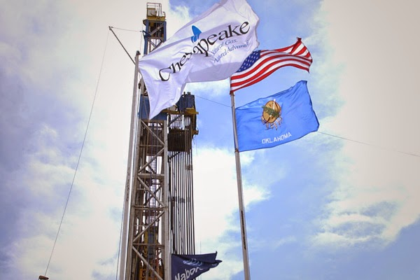 Image of the Chesapeake Energy flag
