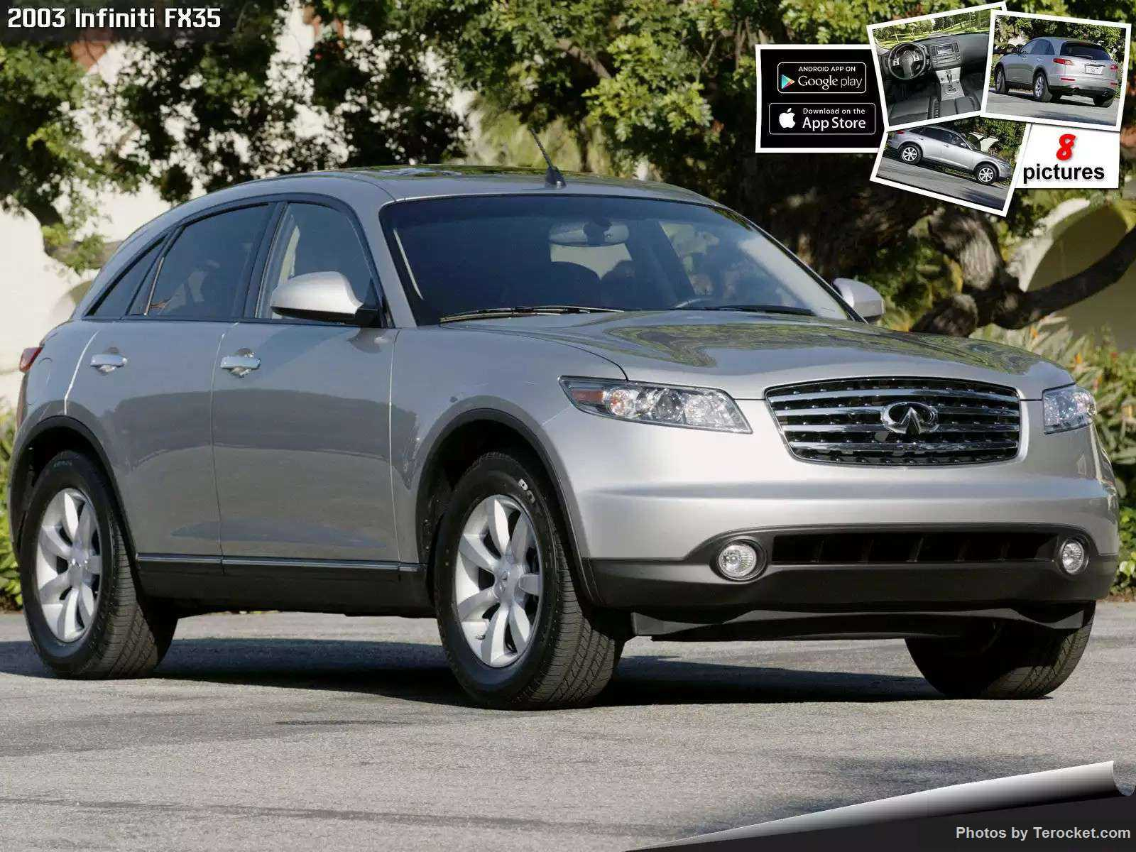 Hình ảnh xe ô tô Infiniti FX35 2003 & nội ngoại thất