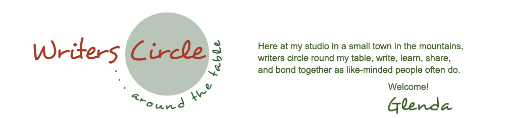 Writers Circle around the Table