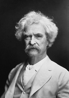 Google Celebra o 176º  aniversário de Mark Twain