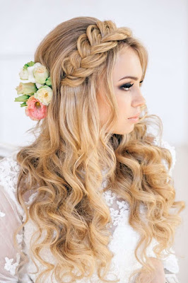 Braided Crown Wedding Hairstyle Pretty