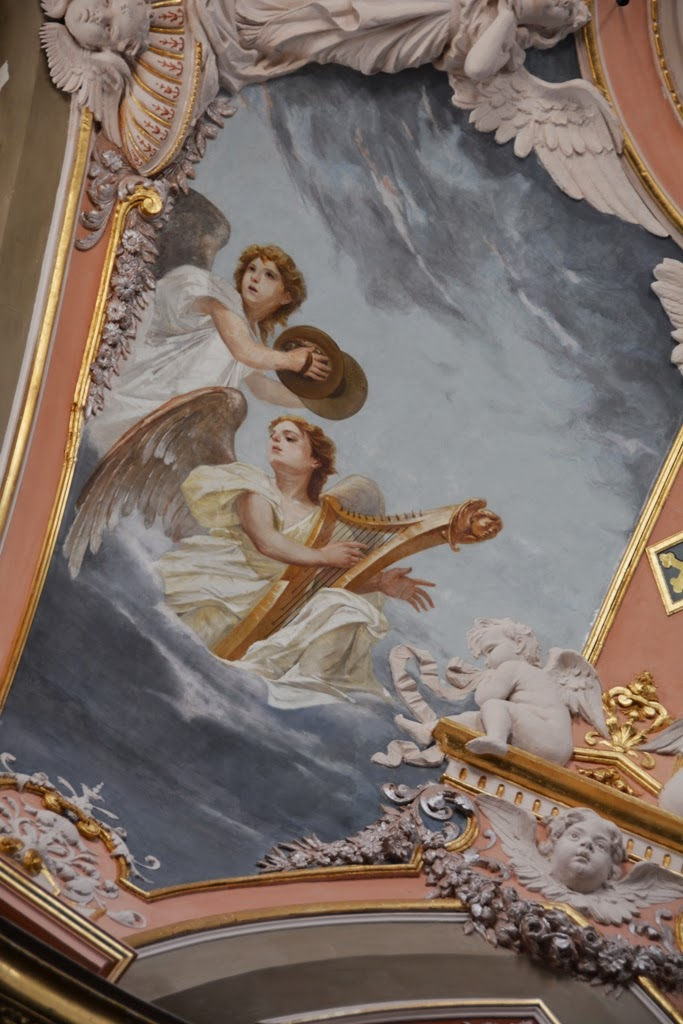 Carmelite Priory Mdina angels