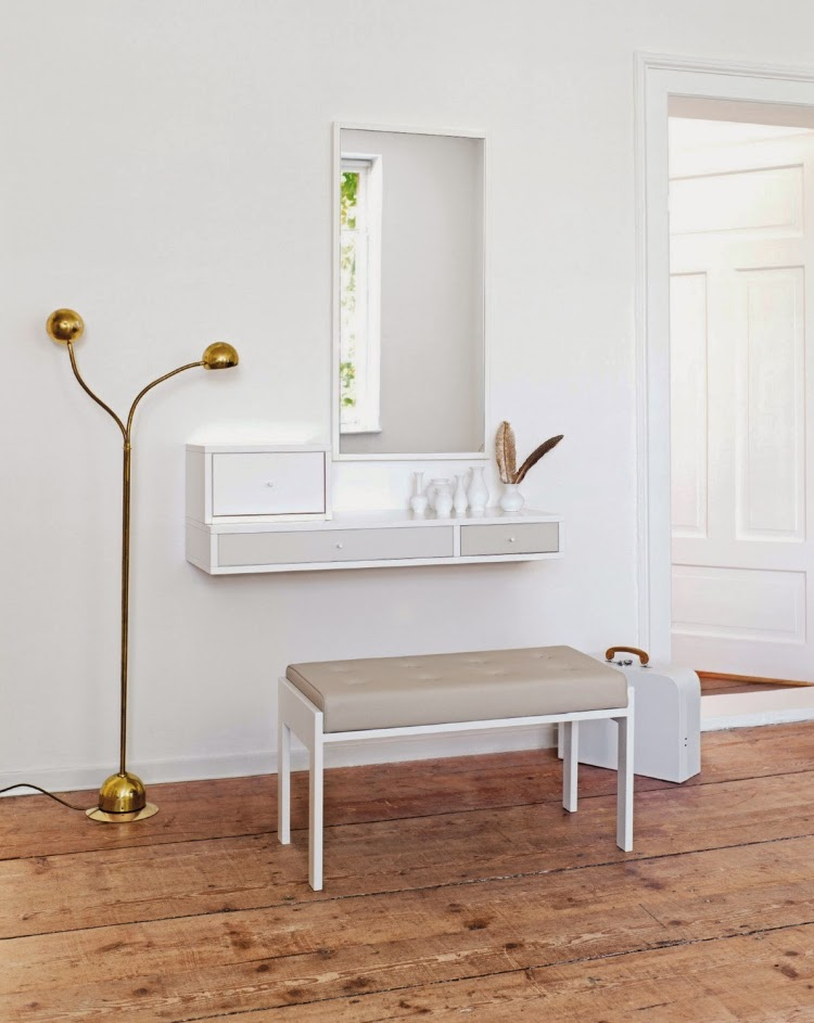 Captivating White Dressing Table Designs