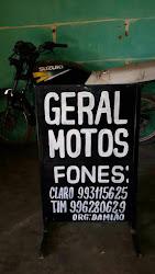 GERAL MOTOS: SERVIÇOS DE CONSERTOS COM QUALIDADE - FONES 88 993115625 E 88 996280629  ORG. DAMIÃO.