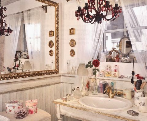Decoraci n de ba os estilo provenzal colores en casa - Estilo provenzal decoracion ...