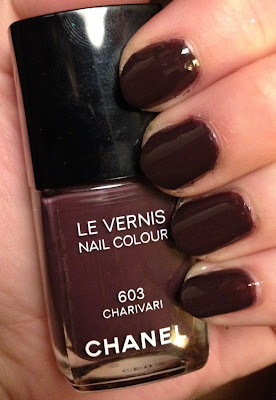 Chanel, Chanel Charivari, Chanel Le Vernis Nail Colour, nail polish, nail varnish, nail lacquer, manicure, my latest mani, mani of the week, #manimonday, nails