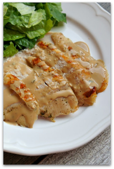 Slow Cooker Turkey Breast and Gravy (3 ingredients)