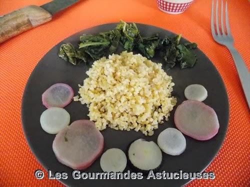 Les gourmandes astucieuses cuisine v g tarienne bio - Cuisiner les radis roses ...
