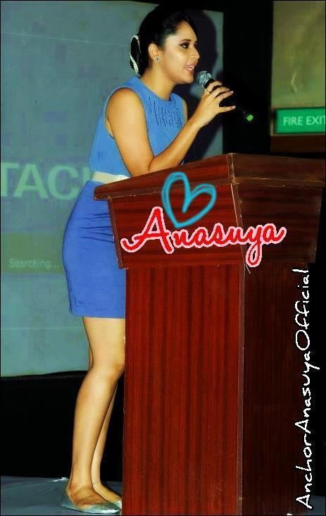 Anchor anasuya hot and sexy leg show