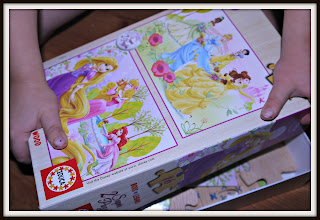 Disney, princesses, jigsaw