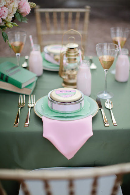 Girl Scouts inspired wedding shoot