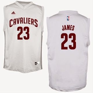 Lebron James White Cleveland Cavaliers jersey, lebron s m l xl 2x 3x 4x cavaliers jersey