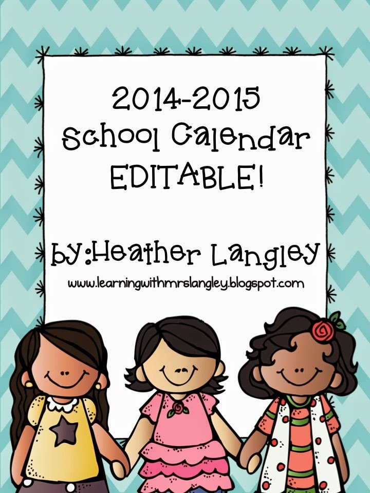 http://www.teacherspayteachers.com/Product/EDITABLE-2014-2015-School-Calendar-1270081