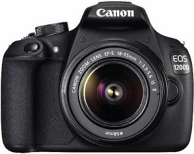 Harga dan Spesifikasi Kamera Canon EOS 1200D