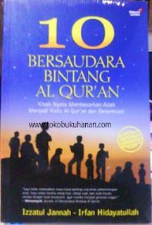buku 10 bersaudara bintang Al Qur'an