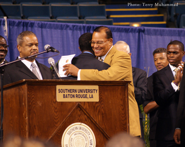 UPDATED: What's Kip Holden Doing Welcoming Louis Farrakhan?