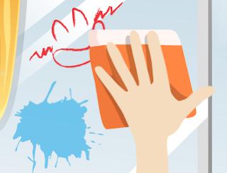 Parti Sonrası Ev Temizleme Ve Cam Silme Oyunu