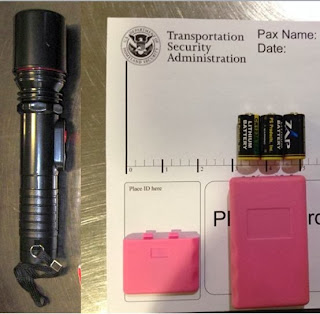 Stun Guns Discovered at (L-R) JAN & FSD