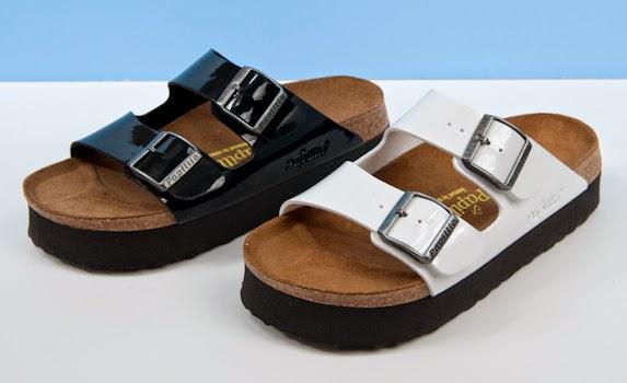 Birkenstock platform Arizona sandal