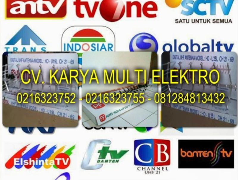 AGEN AHLI JASA PASANG ANTENA TV DIGITAL