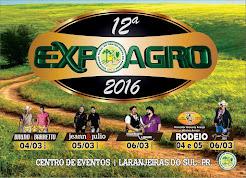 Laranjeiras do Sul:Vem aí a Expoagro 2016 (4 a 6 de março)