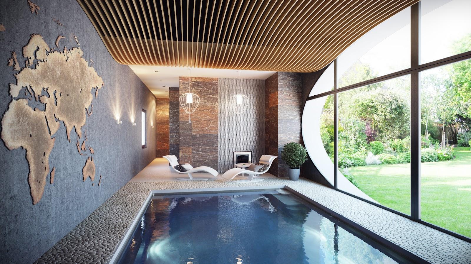 tempat+relaksasi+rumah+modern Desain Rumah Modern Dari Karya Brilian Arsitektur Uglyanitsa Alexander