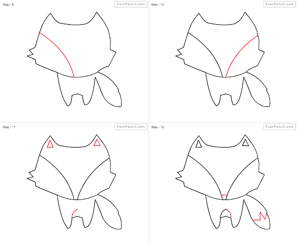 How To Draw A Fox Easy For Kids