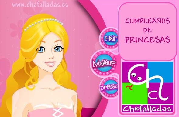 cumpleaños de princesas, barbie, personaje favorito