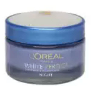 Amazon: Get L'Oreal White Perfect Fairness Revealing  Night Cream Rs.313 Only