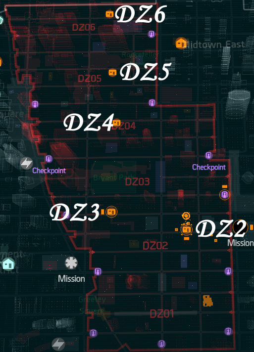 The Division Blueprint Finder