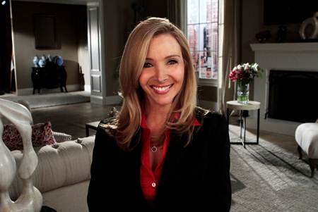 Lisa Kudrow of Web Therapy