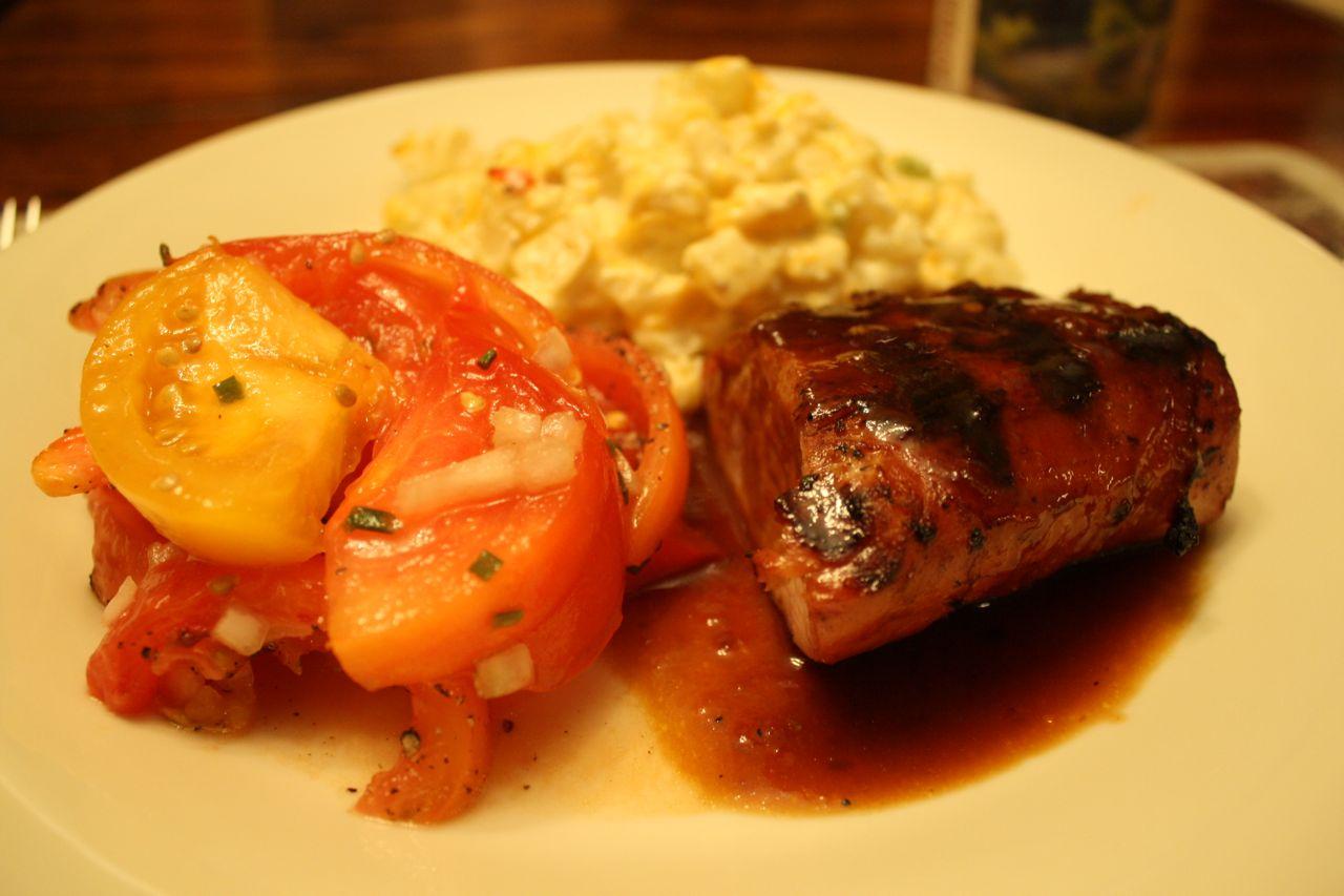 Pork Tenderloin Marinade Soy Sauce Garlic Ginger