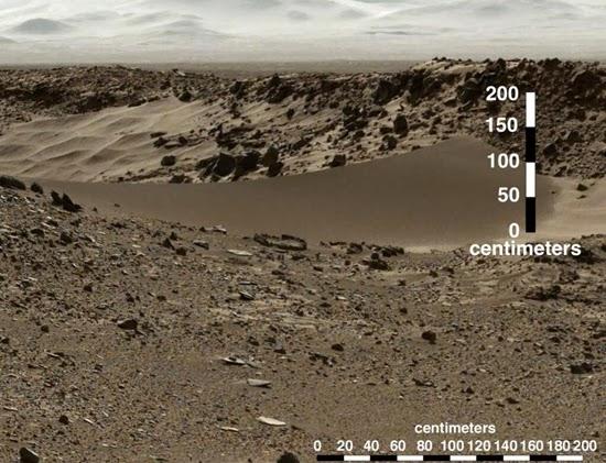 Foto Terbaru Curiosity Menunjukan Langit Mars Berawan