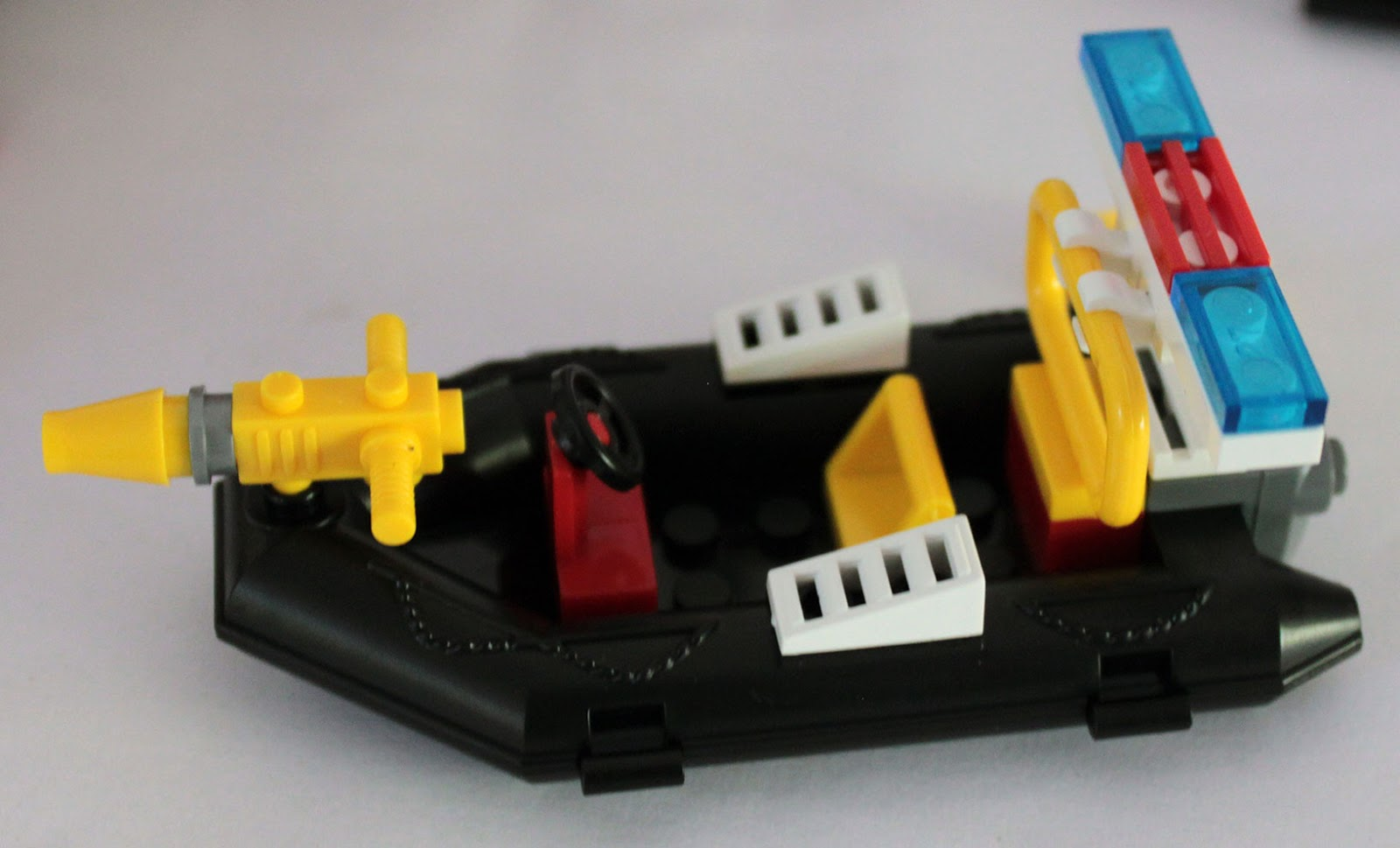 lego 4x4 with powerboat instructions