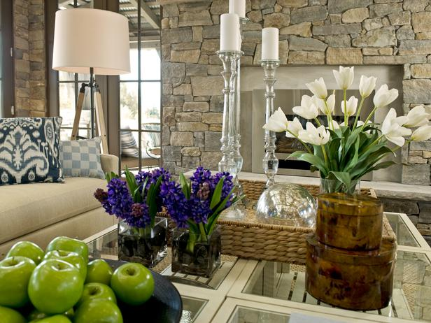 Six Cottage Style Glass Topped Tables Form One Large Center Coffee Table Slatted Shelves Provide Storage For Magazines Pillows And Home Entertaining