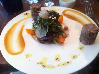 Stitch and Bear - Confit duck boudin at Camden Kitchen