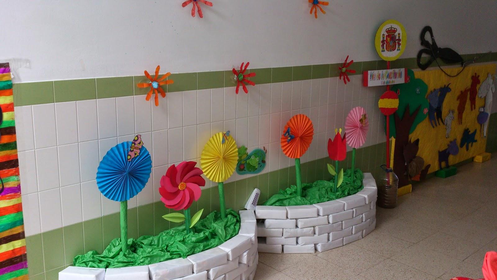 C p san antonio ed infantil taller primavera 1 for Decoracion primavera infantil
