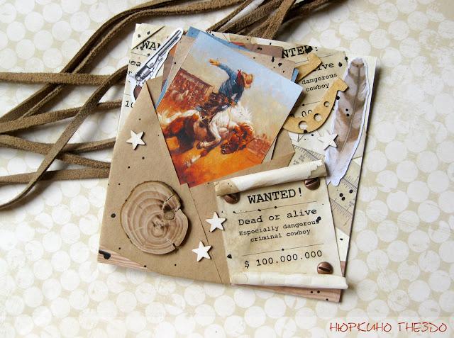 Ковбойская открытка
