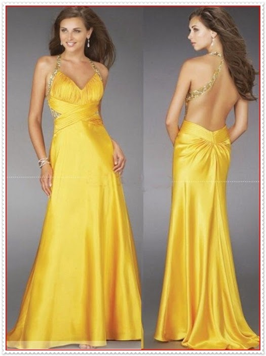 Kleid Tiefer Ausschnitt Rücken 2015