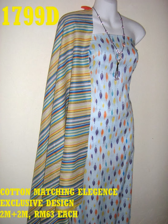 CME 1799D: COTTON MATCHING ELEGENCE, EXCLUSIVE DESIGN, 2M+2M
