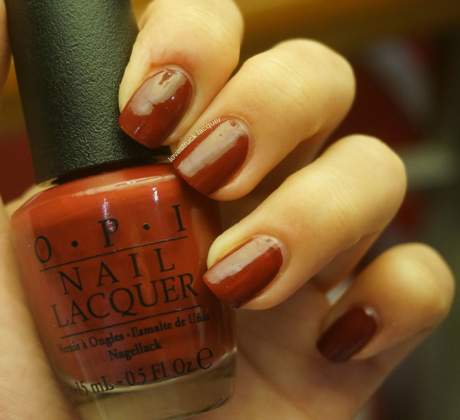 Lovestruck Lacquer: Busy Girl Nail Art Challenge - Oxblood