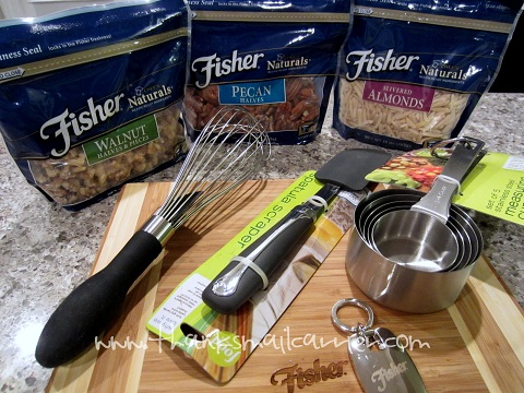 Fisher Nuts cooking