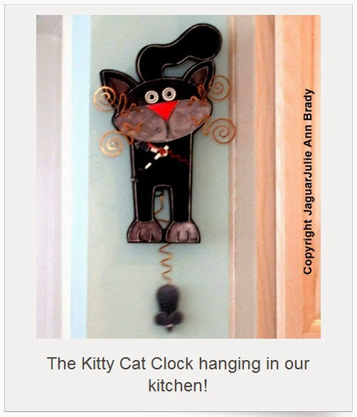 Blondes that diy kitty cat clocks - Kitty cat clock ...